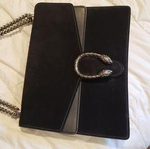 Gucci dionysus suede bag very good condition